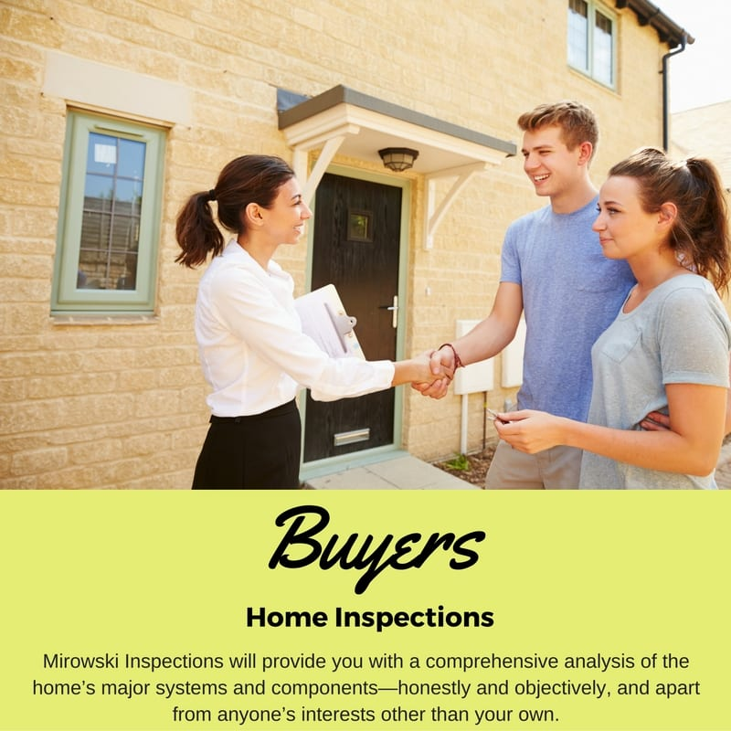 Buyers Home Inspections - Mirowski Inspections Springfield MO