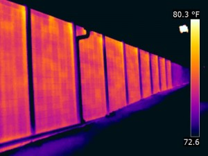 Thermal Image-Block wall infrared scan Mirowski Industrial Infrared Inspections Springfield MO (3)
