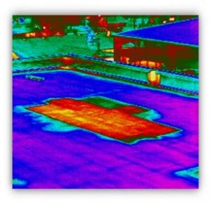 Thermal Image- Flat Roof Infrared Industrial Scan-Mirowski Inspections Springfield MO (4)