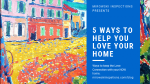5 ways to help you love your home